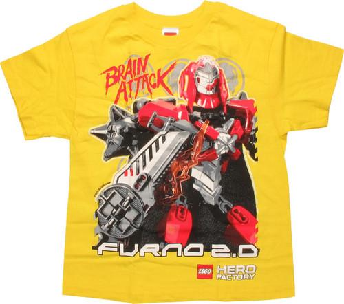 Lego Hero Factory Brain Attack Youth T-Shirt