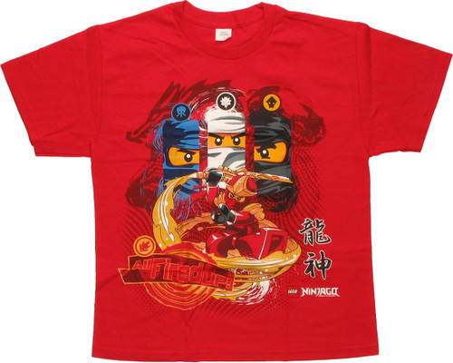 Lego Ninjago All Fired Up Youth T-Shirt