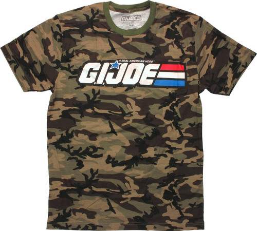 GI Joe Logo Camouflage T-Shirt