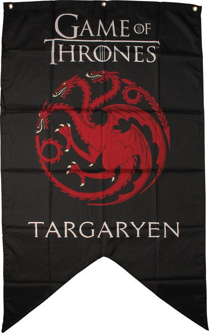 Game of Thrones Targaryen Family Sigil Flag