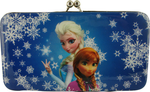 Frozen Elsa Anna Flakes Clutch Wallet