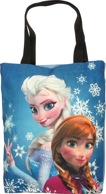 Frozen Elsa Anna Canvas Tote Bag