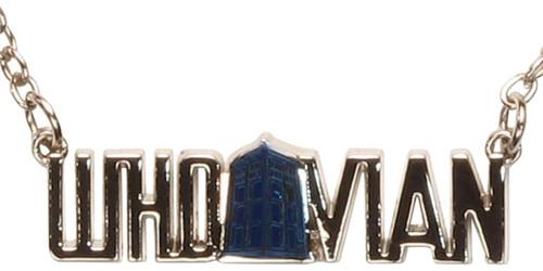 Doctor Who Whovian Around TARDIS Necklace