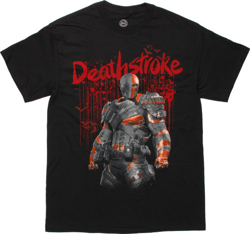 Deathstroke Blood Drips T-Shirt