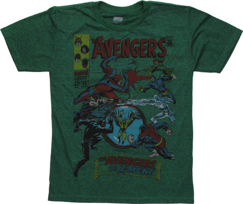 Avengers Issue 53 Comic Cover Youth T-Shirt