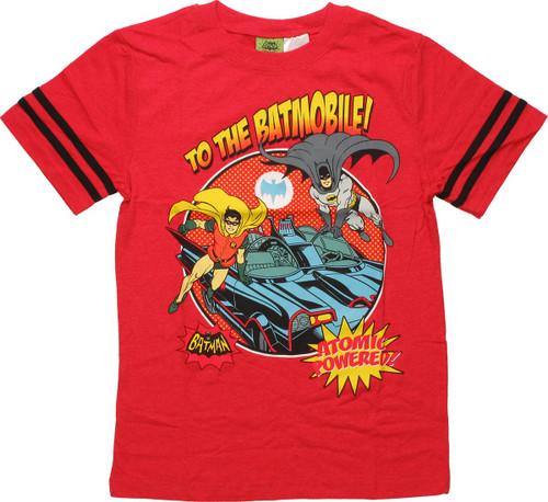 b7db146932a8c Batman Atomic Batmobile Youth T-Shirt youth-t-shirt-batman-to-batmobile