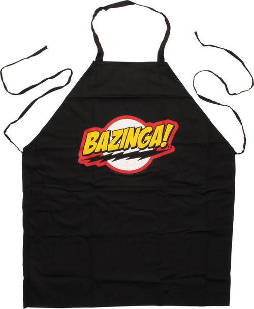 Big Bang Theory Bazinga Logo Apron