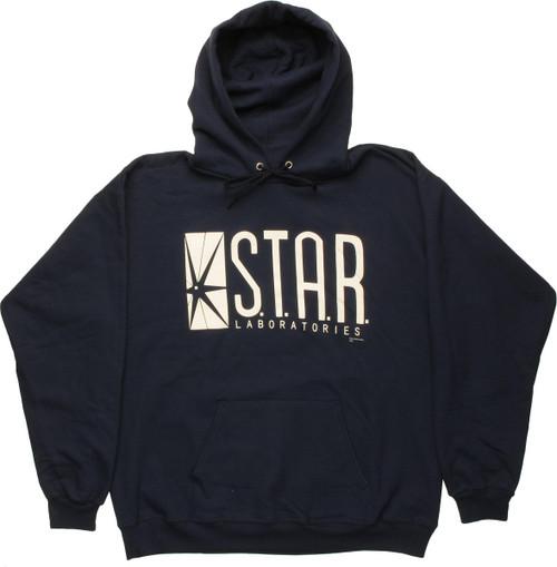 Flash Star Laboratories Navy Blue Hoodie