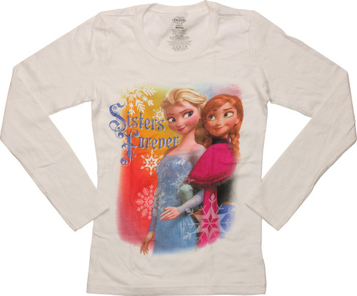 Frozen Duo Forever Long Sleeve Juvenile T-Shirt