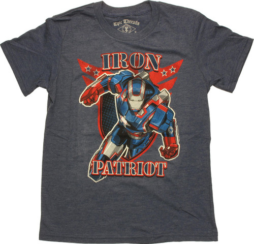 Iron Man Iron Patriot Youth T-Shirt