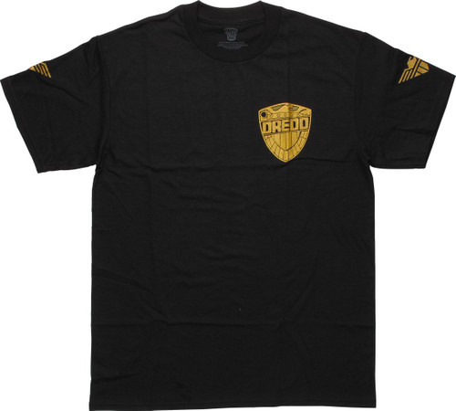 Judge Dredd Chest Badge T-Shirt