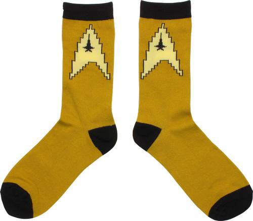 Star Trek Command Badge Crew Socks