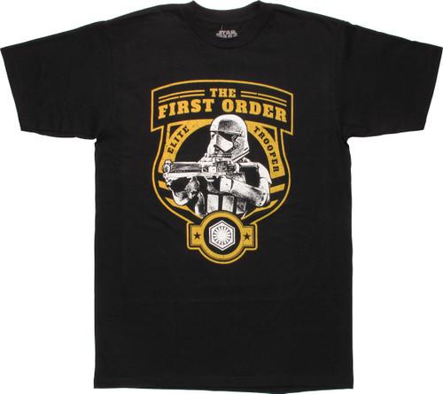 Star Wars TFA First Order Elite Trooper MF T-Shirt