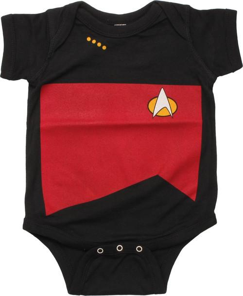 Star Trek Next Generation Command Snap Suit