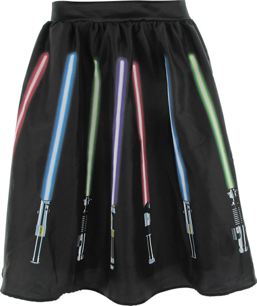Star Wars Lightsabers Skirt