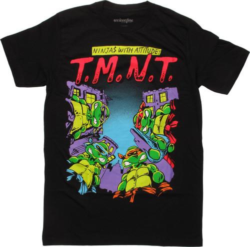 626c53ad603 Ninja Turtles Attitude TMNT T-Shirt