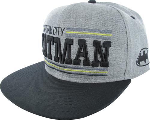 Batman Gotham City Snapback Hat