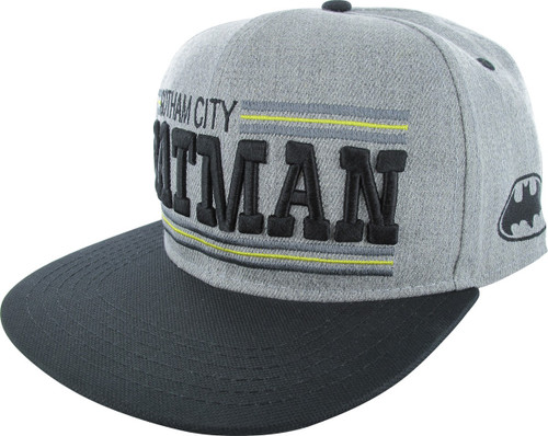 Batman Gotham City Snapback Hat