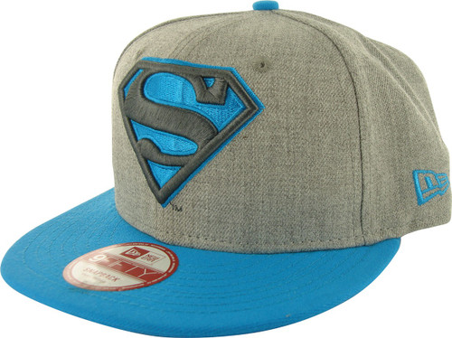 Superman Logo Heather 9FIFTY Hat