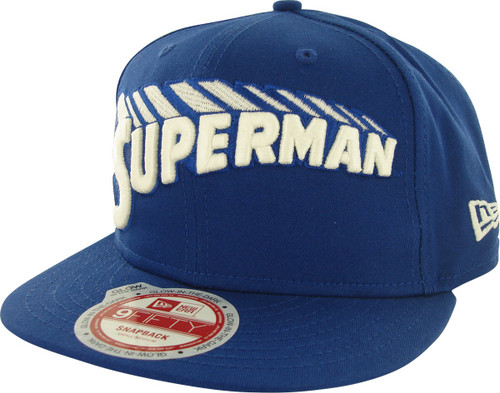 Superman Name Glow 9FIFTY Hat