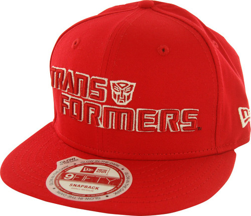 Transformers Autobot Name Glow 9FIFTY Hat