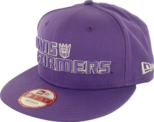Transformers Decepticon Name Glow 9FIFTY Hat