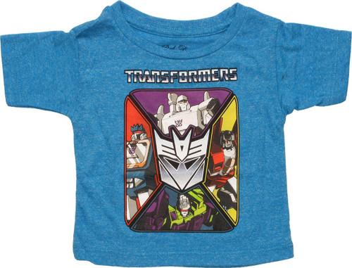Transformers Decepticon Square Infant T-Shirt