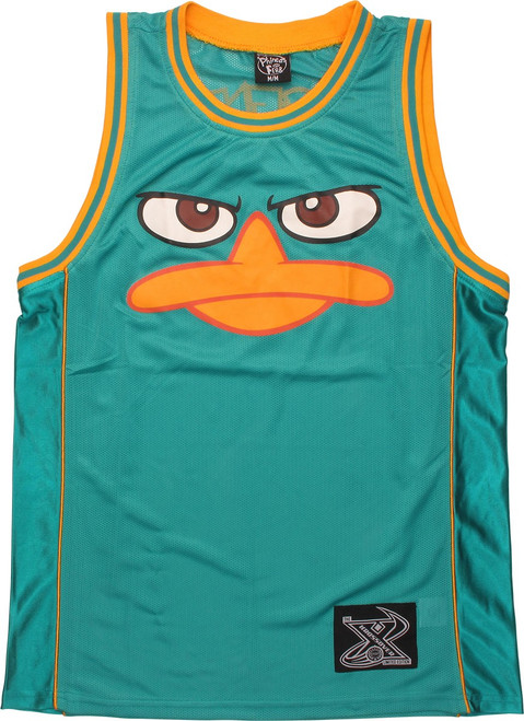 Phineas and Ferb Agent P Basketball Jersey