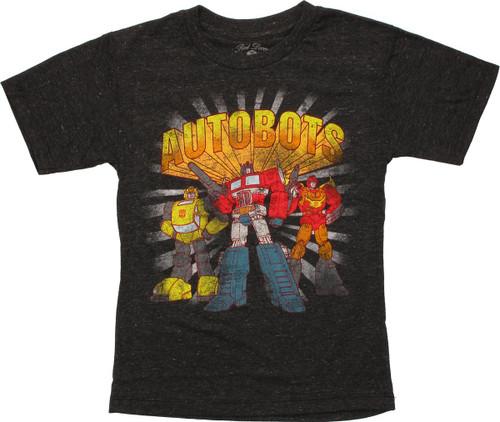 Transformers Autobots Trio Juvenile T-Shirt