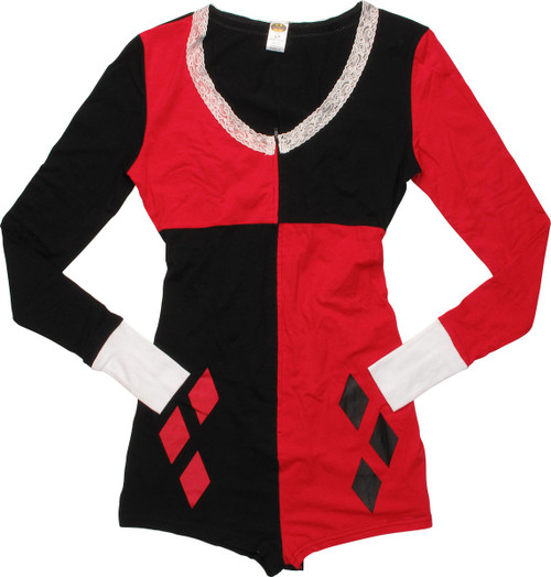 Harley Quinn Costume Junior Romper