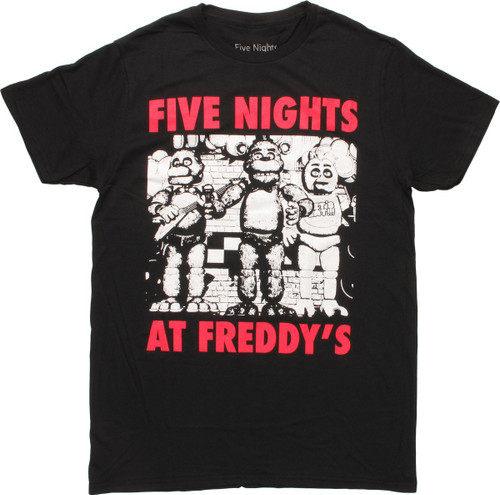 Five Nights at Freddy's Band Group T-Shirt