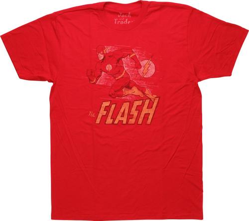 Flash Vintage Run Pose T-Shirt