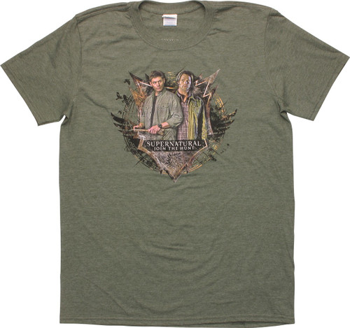 Supernatural Sam and Dean Join the Hunt T-Shirt
