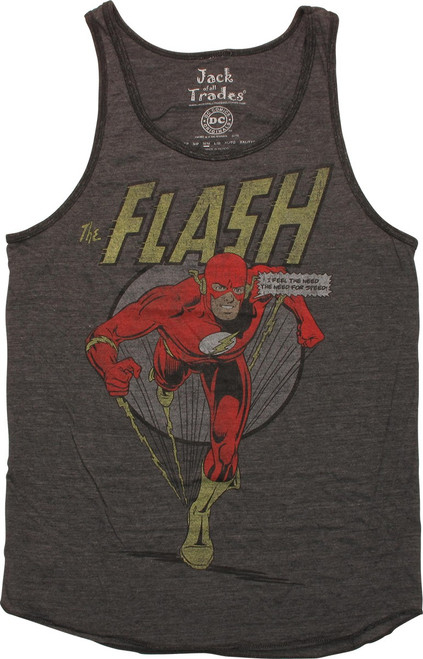 Flash Feel Need for Speed Ringer Tank Top