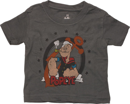 Popeye Pipe Stars Toddler T-Shirt