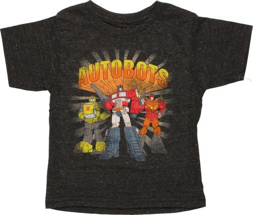 Transformers Autobots Trio Toddler T-Shirt