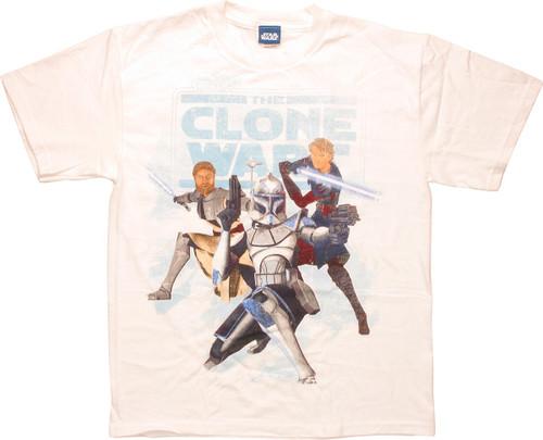 Star Wars Clone Wars Good Trio Youth T-Shirt