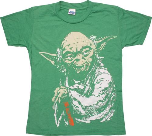 Star Wars Yoda Master Youth T-Shirt
