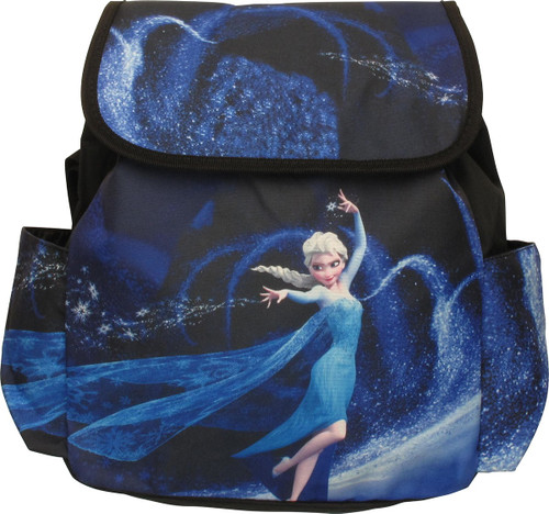 Frozen Elsa Flurry Flap Kids Backpack