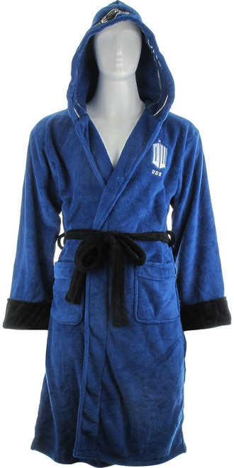 Doctor Who TARDIS Hooded Fleece Robe