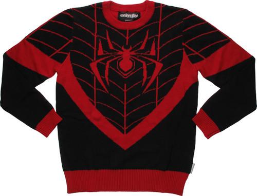 Spiderman Miles Morales Costume MF Sweater