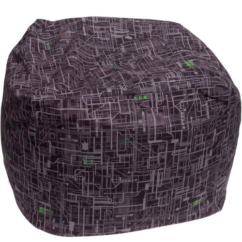 Star Trek Borg Cube Bean Bag Cover