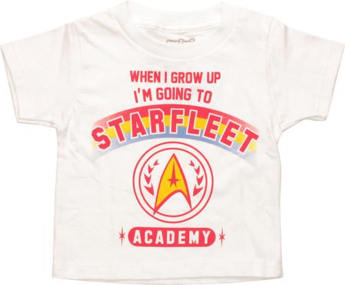 Star Trek Going to Starfleet MF Toddler T-Shirt