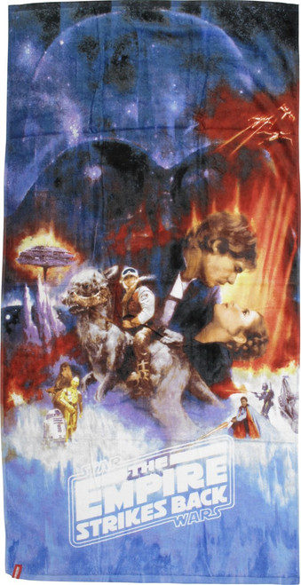 Star Wars Empire Strikes Back Poster Towel