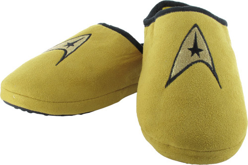 Star Trek TOS Command Gold Slippers