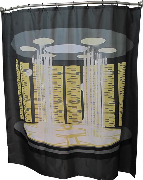 Star Trek TNG Transporter Room Shower Curtain
