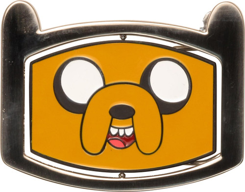 Adventure Time Jake and Finn Reversible Buckle