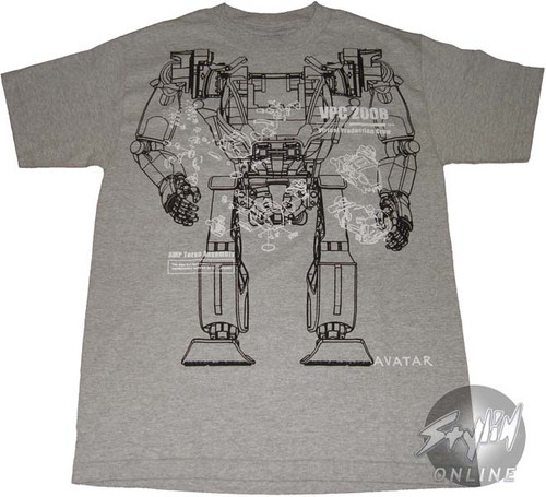 Avatar Technical Plans T-Shirt