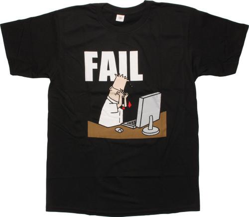 Dilbert Fail T-Shirt
