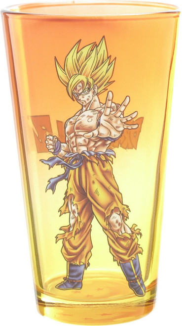 Dragon Ball Z Goku Super Saiyan Pint Glass